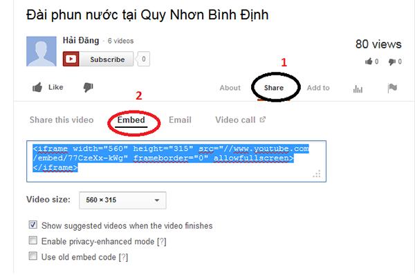 Cách chèn và chỉnh sửa video youtube trên Wordpres