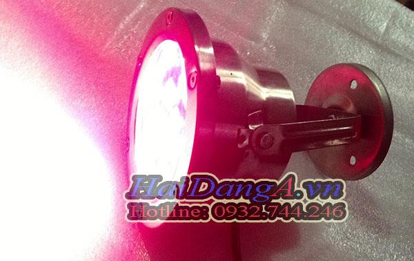 Đèn LED để dưới nước, toàn thân bằng inox 304 hoặc inox 316, IP68