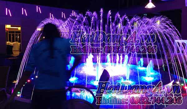 Hệ thống đài phun nước nghệ thuật tại Quy Nhơn nhìn cận cảnh