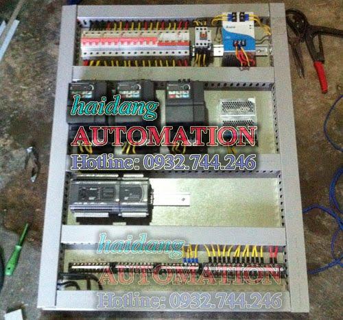 Đấu nối, lắp đặt tủ điều khiển hệ thống đài phun nước, nhạc nước