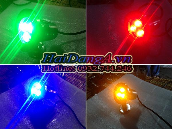 Đèn LED âm nước với nhiều màu sắc đa dạng