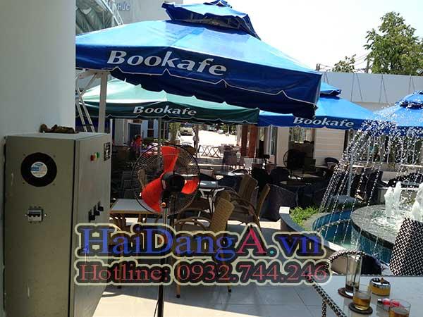 Tủ điều khiển hệ thống phun nước tại Book Cafe Quy Nhơn Bình Định