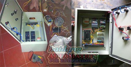 Thiết kế, lắp đặt tủ điều khiển hệ thống phun nước nghệ thuật