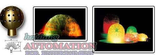 Ứng dụng của vòi phun tạo hình quả cầu nước