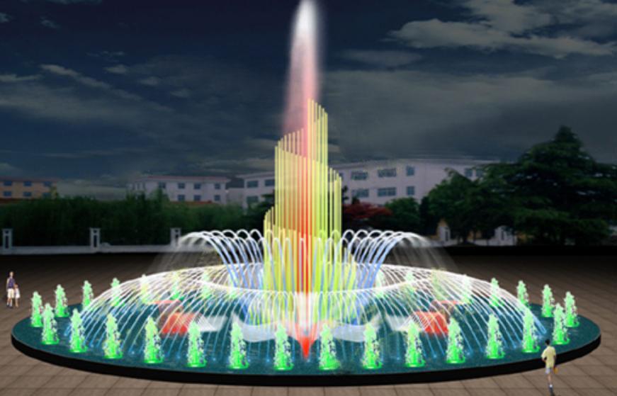 Đài phun nước nghệ thuật nhiều tầng