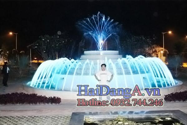 Đài phun nước nghệ thuật tại AROMA---BINH-DUONG_1
