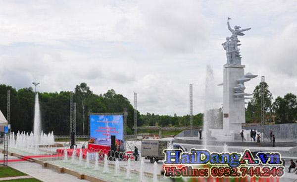 Đài phun nước quảng trường ngã 3 đồng lộc