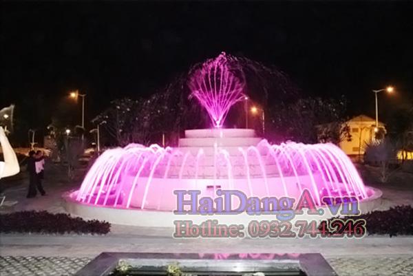 Hồ phun nước nghệ thuật tại AROMA---BINH-DUONG_2