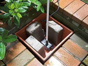 Làm chân cho đài phun nước bằng đá