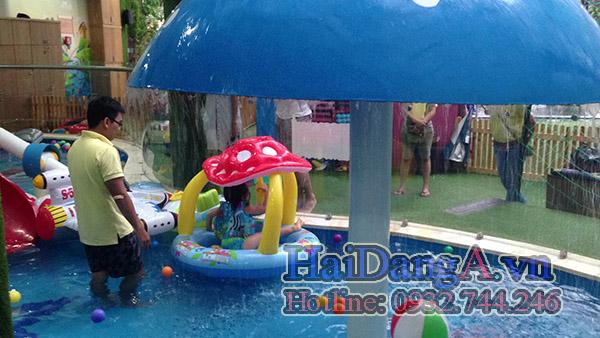 Trò chơi dưới nước tại khu vui chơi thiếu nhi MaiKa Wonderland