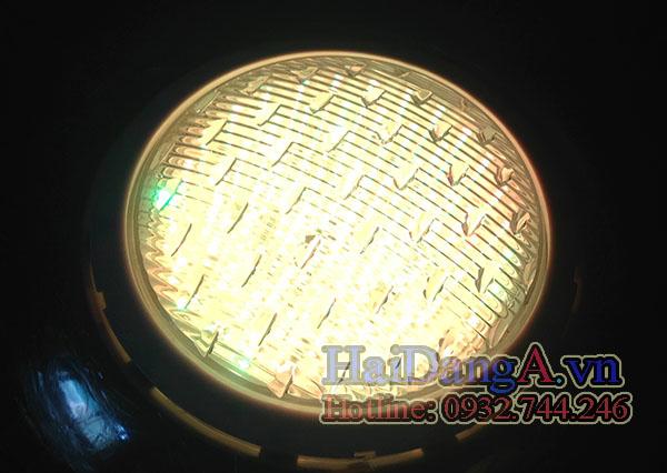 Đèn LED âm nước hồ bơi màu vàng