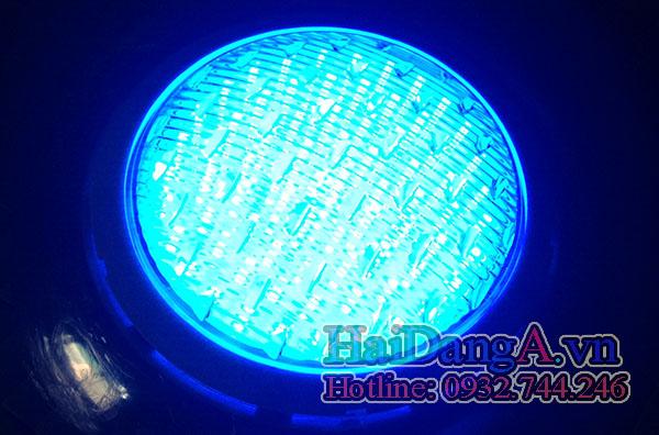 Đèn dưới nước chuyên dụng cho bể bơi hồ bơi màu xanh dương Blue