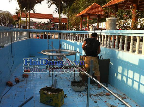 Thi công lắp đặt hệ thống đài phun nước nghệ thuật