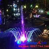 Đài phun nước nhà công tử Bạc Liêu