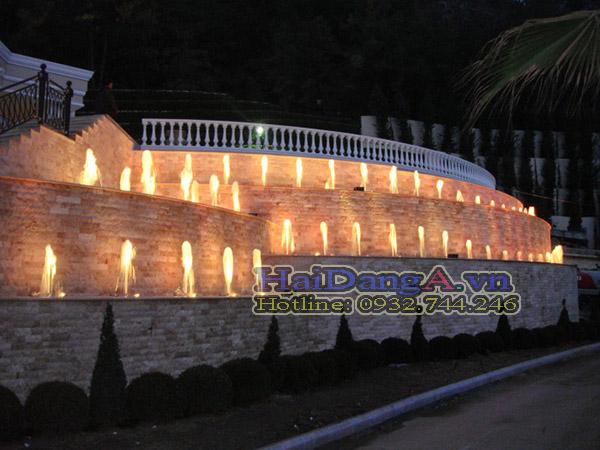 Hải Đăng chuyên thiết kế và thi công các hệ thống phun nước nghệ thuật