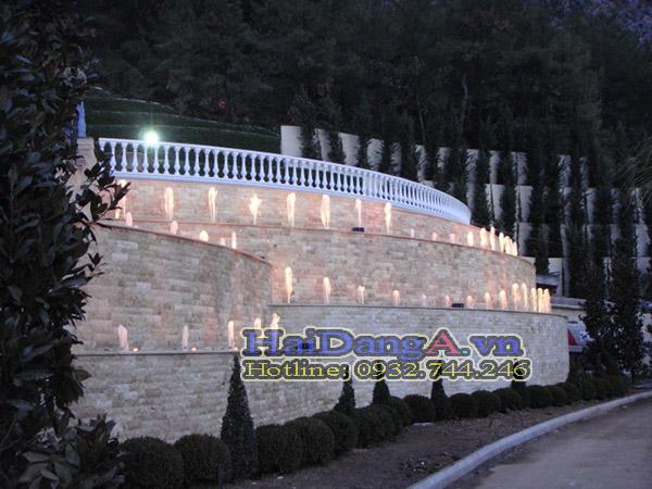 Tường nước rất phù hợp cho biệt thự - khách sạn - trung tâm thương mại....