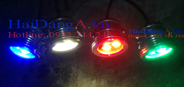 Đèn LED âm dưới nước với nhiều màu sắc tùy chọn