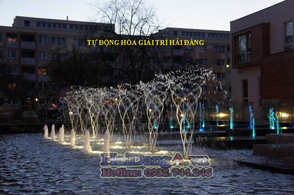 Ứng dụng lắp đặt vòi phun nước HDN-RA7