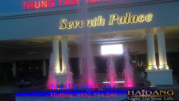 Đài phun nước khách sạn Seventh Palace