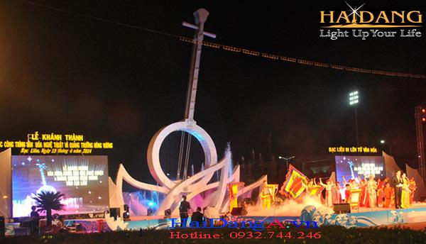 Lễ khánh thành công trình quảng trường Hùng Vương
