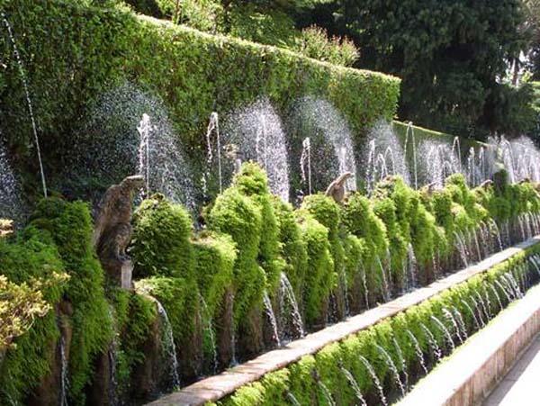 Đài phun nước đẹp mê mẩn lòng người