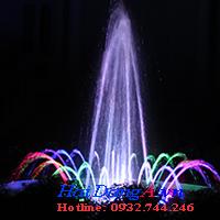 Đài phun nước mini sân vườn nhà anh Khoa