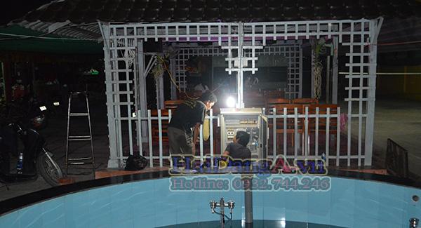 Hải Đăng là công ty chuyên thiết kế thi công lắp đặt các công trình nhạc nước