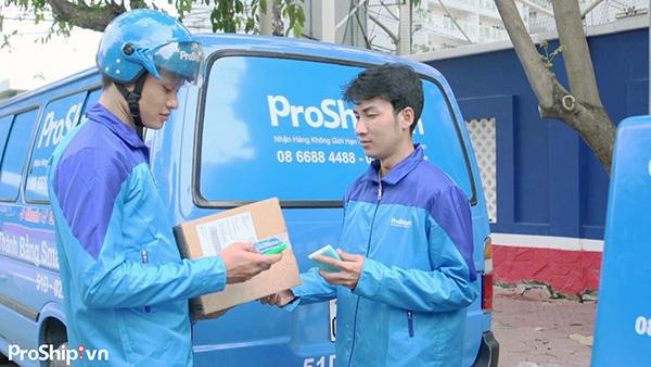 Dịch vụ vận chuyển nhanh chóng giá rẻ Proship.vn