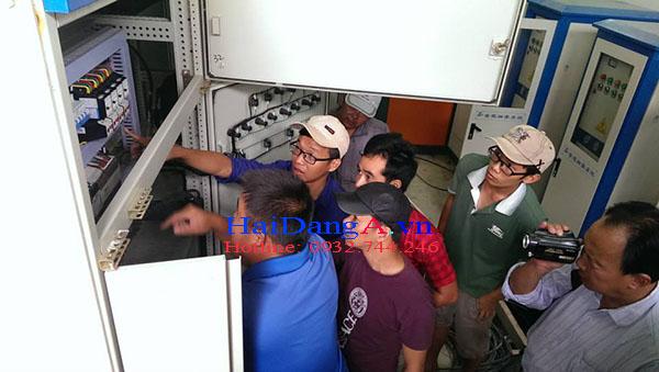 Kiểm tra hệ thống điện điều khiển hệ thống nhạc nước tại Vinpearl Land Phú Quốc