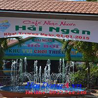 Quán cafe nhạc nước Hải Ngân