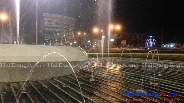 Đài phun nước quảng trường Gia Lai Pleiku