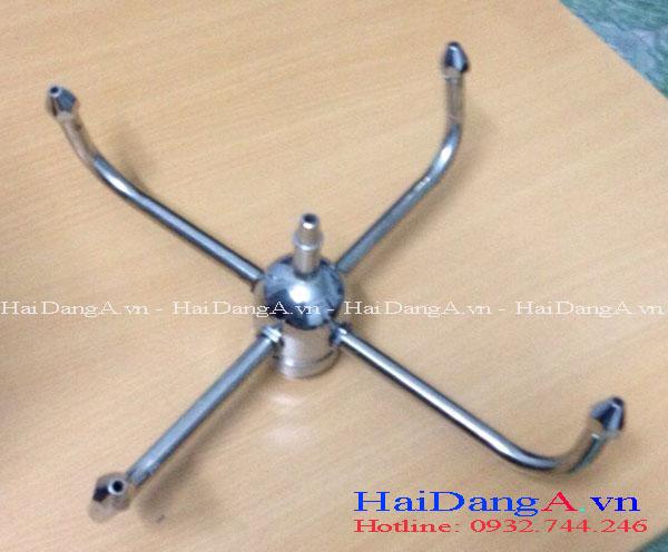 Đầu béc phun múa xoay tròn tự động HDN-RB4