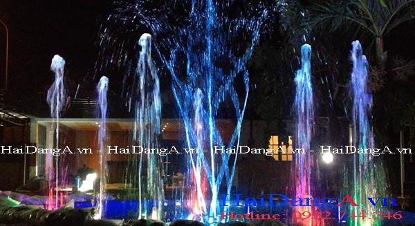 Hình ảnh vòi phun nước múa xoay tròn tự động HDN-RB7