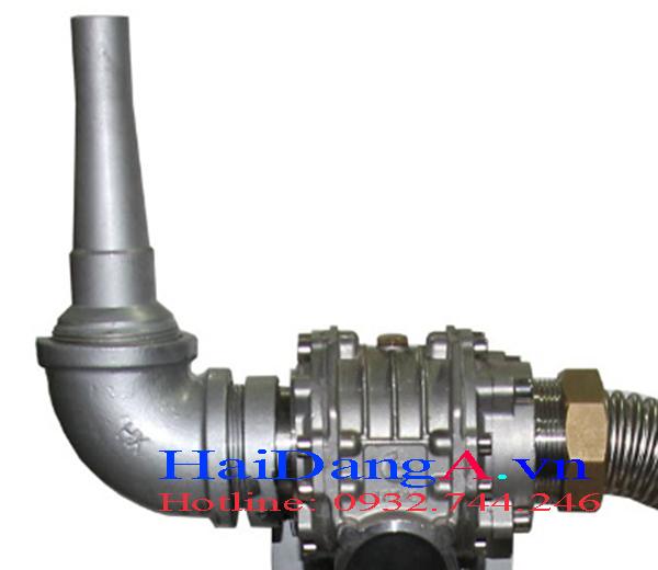 Đầu phun nước 1D được điều khiển bằng 1 động cơ vẫy chính xác vị trí