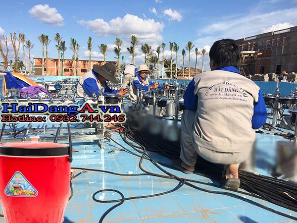 Thi công lắp đặt hệ thống nhạc nước biển Cần Thơ