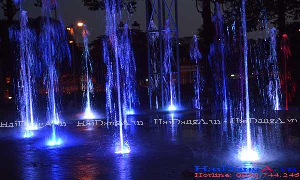Sân phun nước nghệ thuật tại Biên Hòa Đồng Nai
