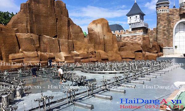 Hoàn chỉnh lắp đặt hệ thống nhạc nước tại Vinpearl Land Nha Trang
