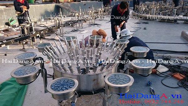 Thi công lắp đặt hệ thống nhạc nước tại Vinpearl Land Nha Trang