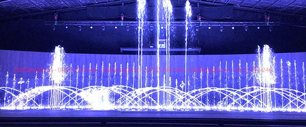 Điều khiển nhạc nước với công nghệ hiện đại nhất
