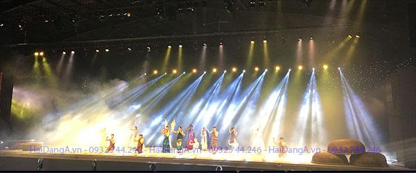 Sân khấu nhạc nước tại Phan Thiết Bình Thuận do Hải Đăng thiết kế thi công