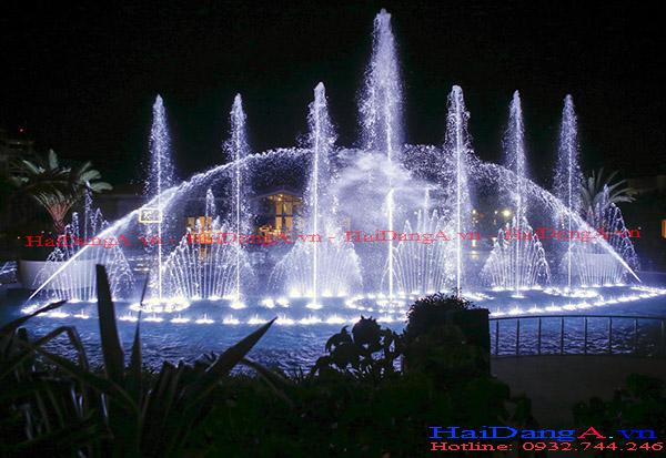 Hệ thống nhạc nước tuyệt đẹp tại The Grand Hồ Tràm Vũng Tàu