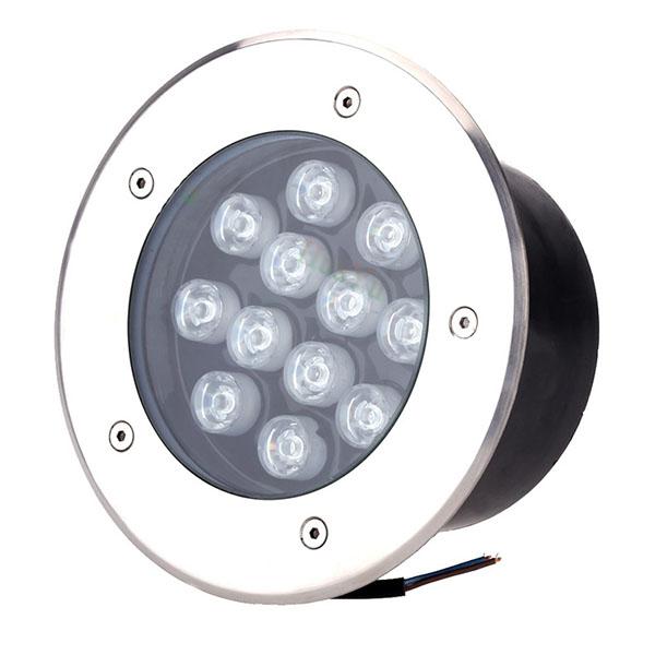 Đèn LED âm sàn đất hoặc âm sàn bê tông ngoài trời HDUG-12W