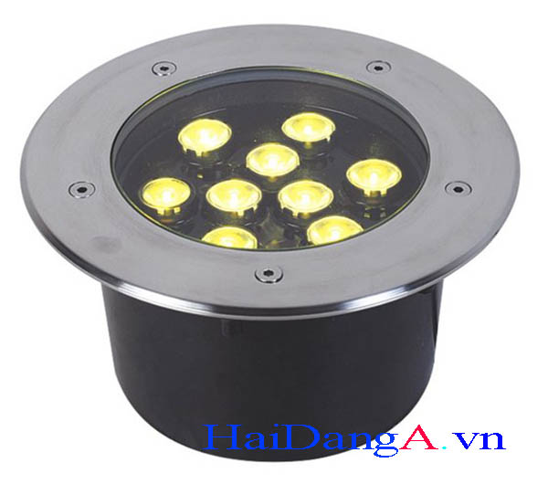 Đèn LED âm sàn HDUG-9W dùng âm sàn bê tông hoặc âm đất hay chiếu sáng cảnh quan