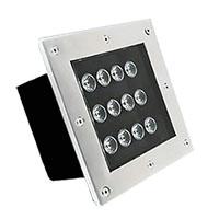 Đèn LED âm sàn hình chữ nhật HDSUD-12W