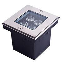 Đèn LED âm sàn hình chữ nhật HDSUD-4W