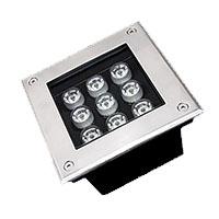 Đèn LED âm sàn hình chữ nhật HDSUD-9W