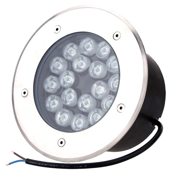 Đèn LED âm sàn ngoài trời 18W