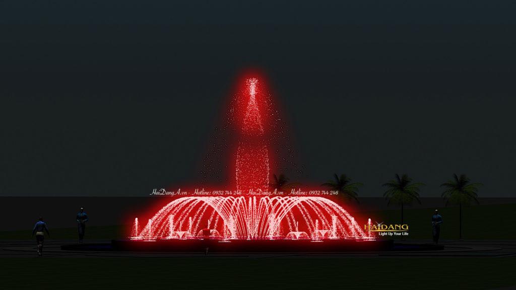 Hệ thống nhạc nước đài phun nước nghệ thuật do Hải Đăng thiết kế