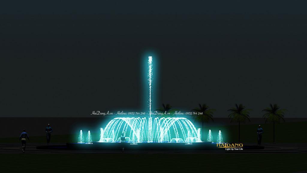 Hệ thống nhạc nước đài phun nước nghệ thuật do Hải Đăng thiết kế5
