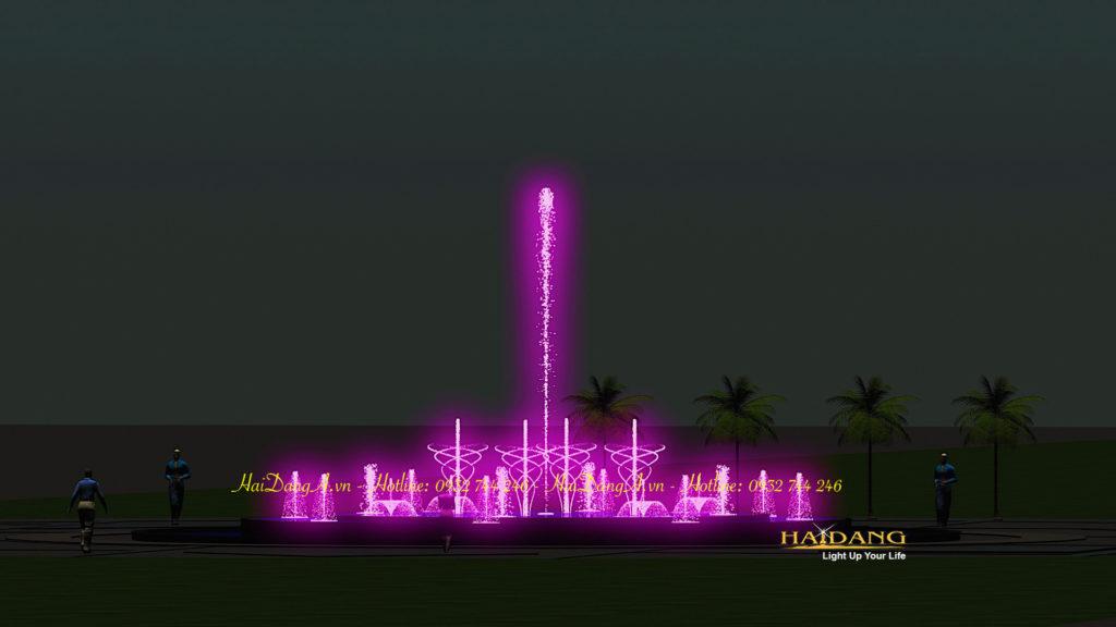 Hệ thống nhạc nước đài phun nước nghệ thuật do Hải Đăng thiết kế7